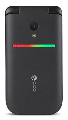 (TG. 0) Doro PhoneEasy 609 96g Black - mobile phones (320 x 240 pixels, MicroSD