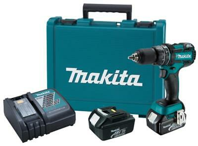 MAKITA-XPH06 18V LXT Brushless Cordless 1/2 In. Hammer Driver-Drill Kit