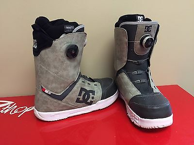 Men's DC White Collection Control Snowboard Boots Size 10