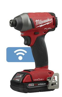 MILWAUKEE-2757-22CT M18 FUEL™ 1/4 In. Hex Impact Driver with ONE-KEY™ Ki