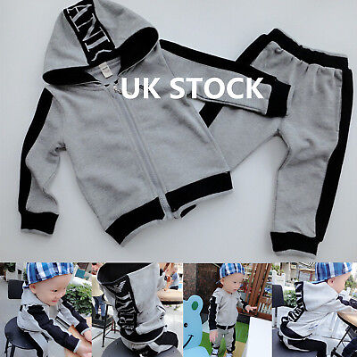 Tracksuit Sweater 2PCS Boys Clothing Outfits Hat Set Shirt Pant long sleeves!!!