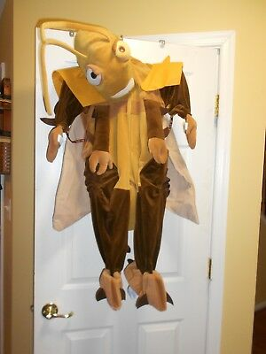 NWT Disney Costume A Bugs Life Hopper Toddler Child Size 2T Halloween RARE
