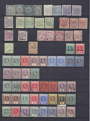 Fiji - Small Collection Of Early Mint And Used Stamps, Incl Qv, Kevii & Kgv