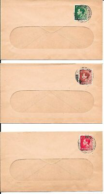 3 1936 Edward VIII Abdication Covers (11 December)
