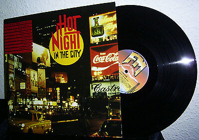 Lp V/a Hot Night In The City * Bmg Fm 1989 Germany * Sojourn / 8084 / Bystander