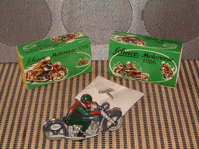 Schuco Nos, Ltd Edition, Replica Motoracer 1006 Clockwork Dk. Green Motorcycle!