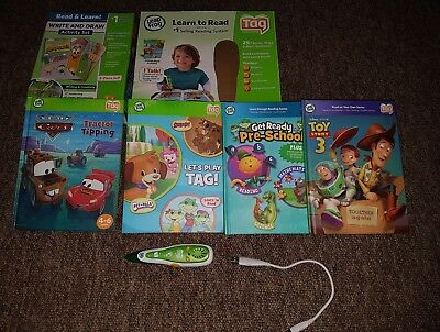 LeapFrog Learn to Read Tag Reading System bundle