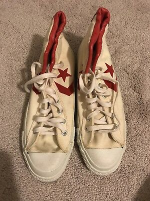 Vintage Converse All star Pro Hi 70's Basketball Shoes size 9 Made in USA