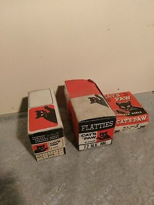 Vintage CATS PAW Rubber NOS COWBOY BOOT HEELS,FLATTIES AND BOYS HEELS PRICE=1