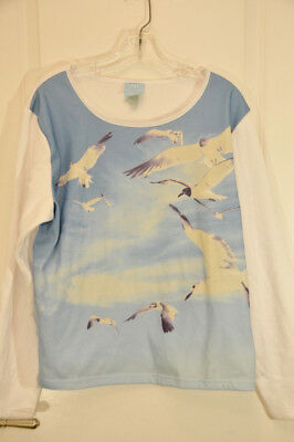 Official Taylor Swift 1989 Cover Sweatshirt Seagull Long Sleeve Size XL