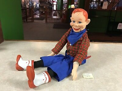 Howdy Doody Ventriloquist Dummy Doll Marked Eegee National Broadcasting Co 1973
