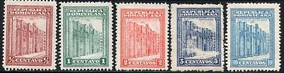 Dominican Republic 1930 Jusuit Convent   SG.275/279 Mint (Hinged)