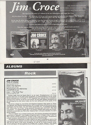 Jim Croce : Cuttings Collection
