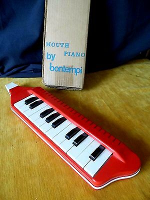 Vintage Bontempi Mouth Piano / Melodica ~ complete with box -  circa 1960s / 70s