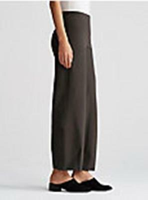 EILEEN FISHER Washable Stretch Crepe Cropped Lantern Pants DEEP RYE  XS S M L XL