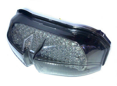 Yamaha FZ1 and FZS1 Sequential LED Taillight; Brake and Turns w/ Smoked Lens