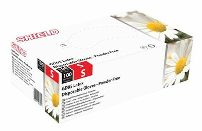 Latex Powder Free Gloves - Large - Pack of 100