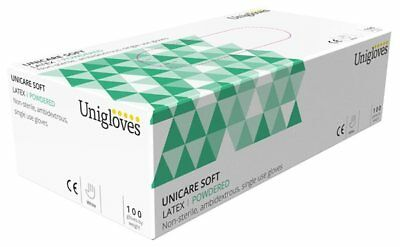 Latex Powdered Gloves - Extra Large - Pack of 100
