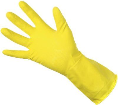 Yellow Household Gloves - Extra Large