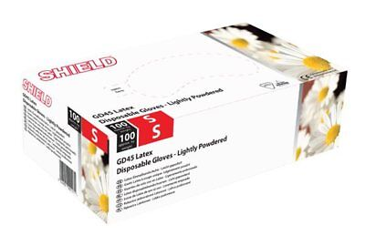 Latex Powdered Gloves - Small - Pack of 100