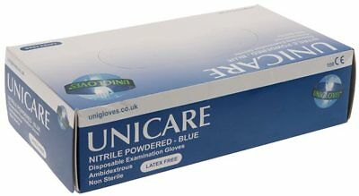 Nitrile Powdered Gloves Small - Pack of 100