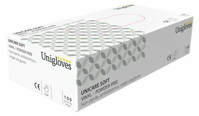 Vinyl Powder Free Gloves - Small - Pack of 100