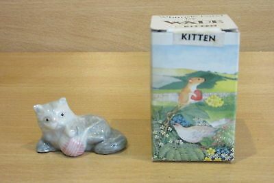 WADE WHIMSIE-LAND KITTEN SET ONE PETS c.1984 -BOXED