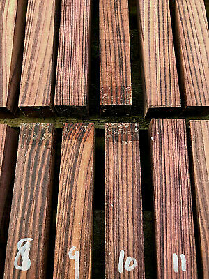 Mexican kingwood (rosewood) pen blanks / turning blanks