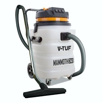 V-TUF Mammoth 240V Wet & Dry Vacuum Cleaner Hoover 3000W Powerful Industrial 90L