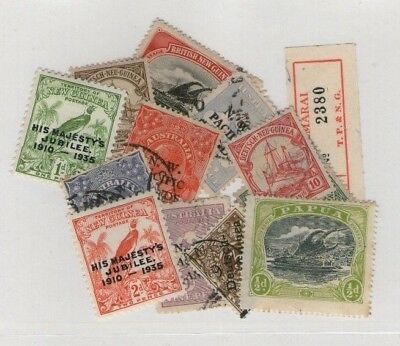 New Guinea Stamp Selection