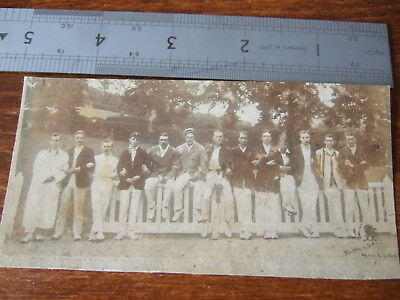 Hampstead Cricket CLub 1908, Devon Tour,  Torquay Cricket Ground, old Photograph