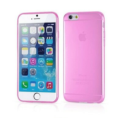 Coque Gel TPU Silicone Transparent Ultra fin  0,3 mm pour iphone 6  plus