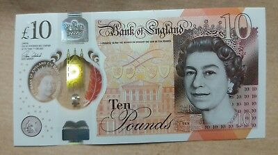 £10 Note AA Low serial New Polymer Jane Austen . Good Condition .