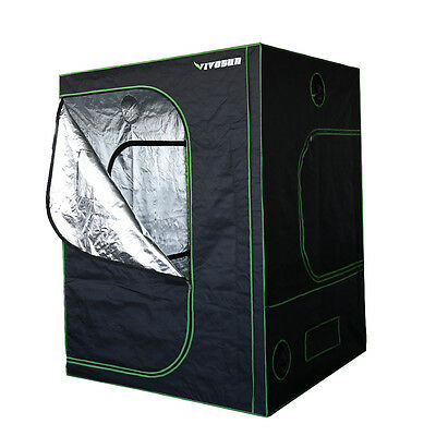 VIVOSUN 600D Mylar Reflective Hydroponic Grow Tent Room Box w/ Easy-view Window