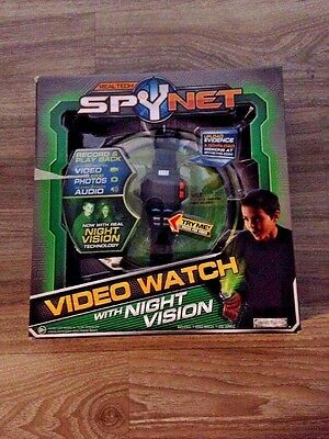 New!!! RealTech Spynet Video Watch With Night Vision Fast Ship