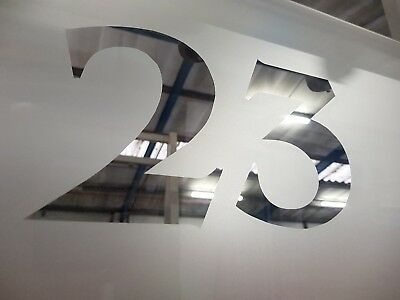 Sandblast stained glass numbers.A rated argon gas fanlights made to measure.