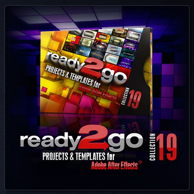 Digital Juice New R2go Proj. & Templates for Adobe After Effects Collection 19