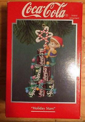 1994 Holiday Stars Coca Cola Ornament