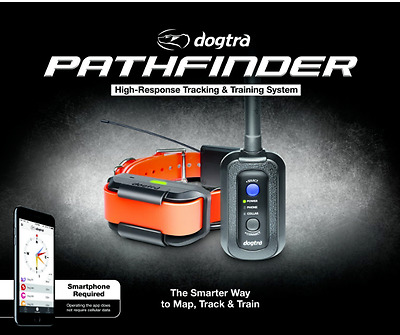 New Dogtra Pathfinder GPS Tracking Remote Training Collar Dog E-Collars Hunting