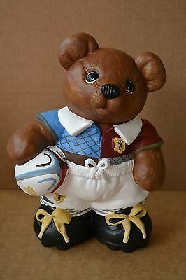 Personalised Rugby Union Bear Any Team European International Christmas Gift