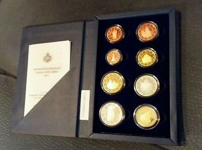 2011 San Marino Proof Coin Set