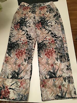 e713cdb7 ZARA PANTS . New without tag . Us size xs . Green pink cream ...