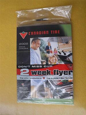 2002 Canadian Tire Catalogue In Sealed Shipping Bag With Flyers
