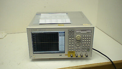 Agilent E5071B  300 kHz to 8.5 GHz Network Analyzer with op: 10, 16, 1E5, 414