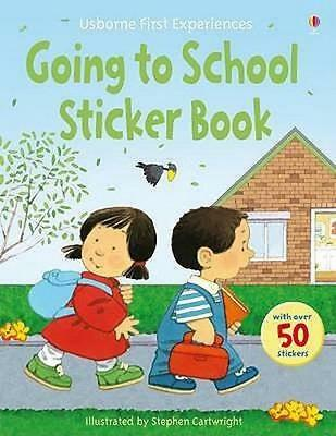 NEW Going to School By Anne Civardi Paperback Free Shipping
