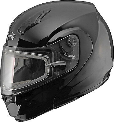 GMAX G4040028 MD04 Solid Color Modular Snow Helmet with Electric Shield