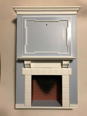 American Girl Caroline's Parlor Fire Place Section Only