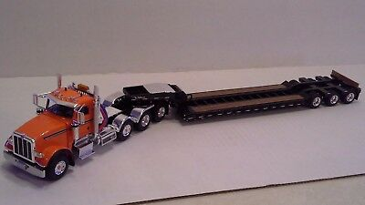 Peterbilt  367 4 Axle Tractor with 3 Axle Lowboy by First Gear 1:50 scale