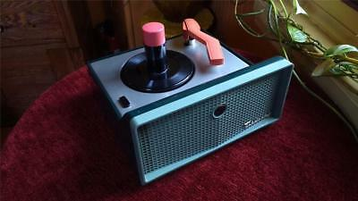 RCA Victor 45 RPM Player  Model 7-EY-2HH  Ready for restore  RARE COLORS