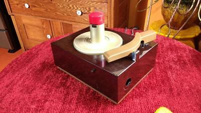 RCA Victor 45 RPM Player  Model 9-JY  Ready for restore or parts